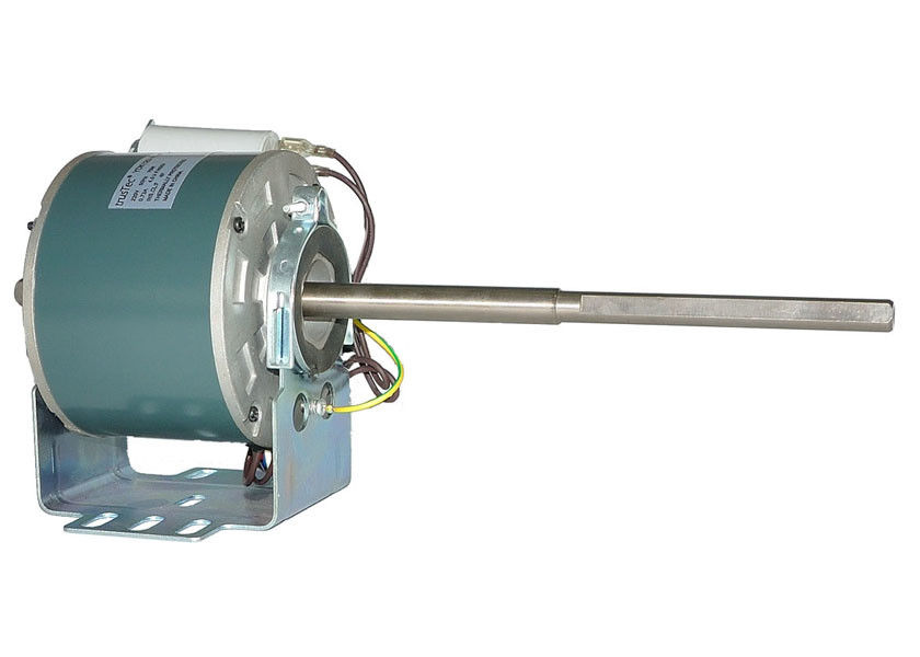 Single Phase Asynchronous Electrical Fan Coil Motor Double Shaft